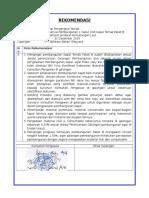 Rekomendasi PKT B (Des 15)