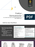 Manajemen Fraktur Dentoalveolar