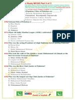 Pak Study Mcqs Part 2
