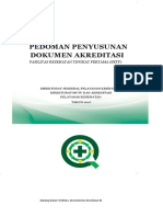 Pedoman Penyusunan Dokumen Akreditasi Pola