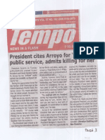 Tempo, July 11, 2019, President cites Arroyo for brilliant public service, admits killing for her.pdf
