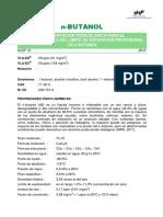 DLEP 72. N-Butanol