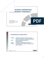 Permeation Measurement Standards