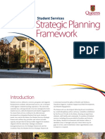 Student Services Strategic Planning Framework Report