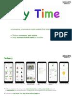 Claire Yan-Toytime UX Design  Case Study