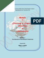 Invertebrate Digestive System2019 Module