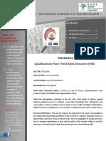 Qp Field Sales Executive Fse