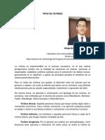 Artículo Revista TIPOS de VÍCTIMAS