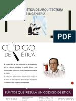 etica del ingenierio y arquitecto