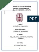 MONOGRAFIA 1 MATEMÁTICA FINANCIERA CONCEPTOS GENERALES1.docx
