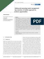 Indicators for Establishing and Assessing Waste Management PDF