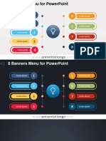 Powerpoint template- Light bulb