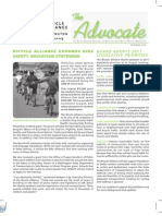 SEPTEMBER 2010 Advocate Newsletter, Bicycle Alliance of Washington