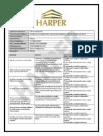 Harper Job Interview Questionnaire