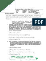 Guia de Trabajo Plantas Termoelectricas y Sistema de Refrigeracion Por Compresion de Vapor