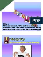 10.CELEBR Integrity Ck 8 Sept.2003 [Compatibility Mode]