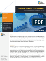 Global Lithium Ion Battery Market, 2018-2025