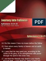 Journey into fullness
