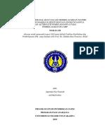 Agustina NF - 18708251001 - UAS Problem Kurikulum & Pembelajaran IPA