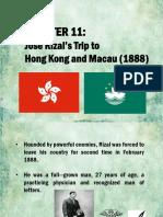 Chapter 11 Rizal in Macau and Hong Kong