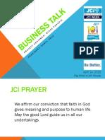 Jci Business Talk