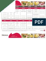 menus du 8 au 1407