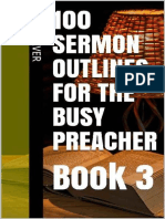 100 Sermon Outlines for the Bus - Jeff Culver