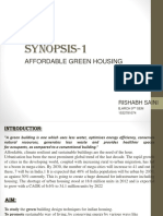 Affordable Green Housing