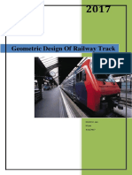 Geometric Design Of Railway Track 2 pdf