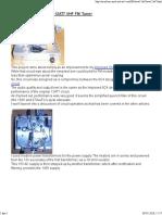 Simple 12AT7 Super Regenerative FM Tuner ECC81
