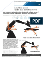 Tool Calibration Method Speeds Implementation of 6-Axis Industrial Robots - Control Engineering