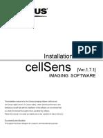 Install cellsens