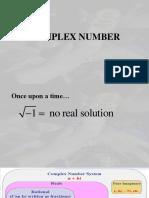 Complex Number 2019