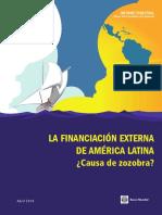 La Financiacion Externa de America Latina (2014)