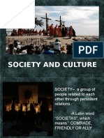 Intro-society and Culture