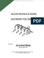Manual Sistema Inyeccion Electronica Combustible Motor Gasolina Componentes Diagnostico Elementos Funcionamiento