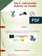 4. Instrumentos de Medicion de Presion
