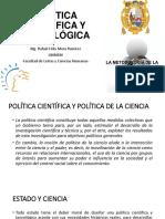 POLÍTICA CIENTÍFICA Y TECNOLÓGICA