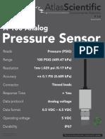 A-100 Analog Pressure Sensor