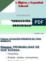 INDUCCIÓN DE SEGURIDAD