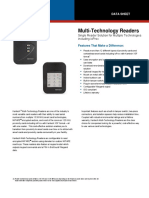 Kantech Multi Technology Readers PDF