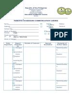 Communication to Parents Using Various Modalities RPMSModule12