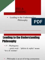 Philosophy & Philosophizing
