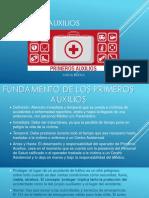 PRIMEROS AUXILIOS [Autoguardado].pptx