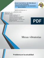 Mesas Vibratorias