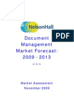 DM BPO Market Forecast November 2009 TOC[1]