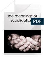 The Meanings of Supplications En