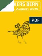 Buskers Bern Programmheft 2019 – Online Version