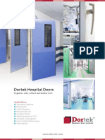 Dortek Hospital Doors Brochure