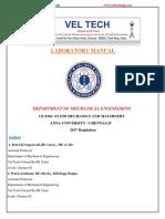 FLUID MECHANICS lab manual.pdf